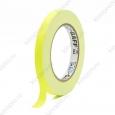Тейп PRO-GAFF флуоресцентный желтый 12мм х 23м