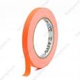 Тейп  PRO-GAFF флуоресцентный оранжевый на тканевой основе 12мм х 23м