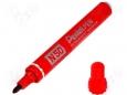 Маркер перманентный (нестираемый) Pentel PEN «N50» красный