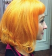 Краска цветная для волос смываемая, 88 мл в цвете AORICOT