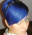 Краска цветная для волос смываемая, 88 мл в цвете:midnight-blue