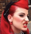 Краска цветная для волос смываемая, 88 мл в цвете:pillarbox-red