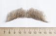 усы малые русые 2(натуральный волос)