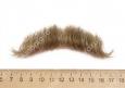 усы малые русые 3(натуральный волос)