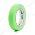Тейп PRO-GAFF флуоресцентный зелёный на тканевой основе 24мм х 22.86м