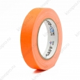 Тейп PRO-GAFF флуоресцентный оранжевый на тканевой основе 24мм х 22.86м