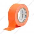 Тейп PRO-GAFF флуоресцентный, оранжевый на тканевой основе 48мм х 22.86м
