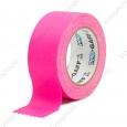 Тейп PRO-GAFF флуоресцентный, розовый 48мм х 22.86м