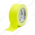 Тейп (скотч) PRO-GAFF флуоресцентный, желтый 48мм х 22.86м