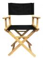 Кресло режиссера (стул - низкий) массив ясеня - ясень натуральный