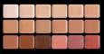Палитра тонов, 18 холодных оттенков (50г), HD макияж