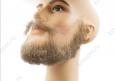 Борода полная с усами, профессиональная, накладная, с усами (натуральный волос)