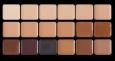 Палитра тонов, 18 нейтральных оттенков (50 г),HD макияж