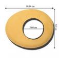 Наглазник овальный  большой d=50мм Oval Large