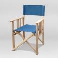 Режиссерский стул синий (кресло режиссера)