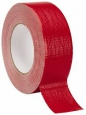 Тейп MagTape XTRA на тканевой основе глянцевый красный 50мм х 50м