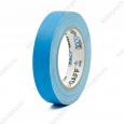 Тейп PRO-GAFF флуоресцентный голубой на тканевой основе 24мм х 22.86м