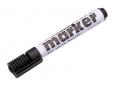 Маркер для белых досок (хлопушек), черный,  1.5 - 3 мм