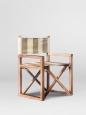 Складное кресло (массив дуба)