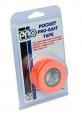 Тейп (скоч) Pro Gaff Pocket флуоресцентный оранжевый на тканевой основе 24mm x 5,5m