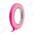 Тейп PRO-GAFF флуоресцентный розовый 12мм х 23м